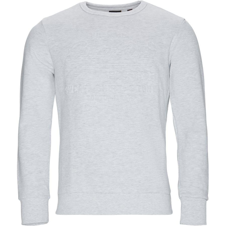 M2000046B - Sweatshirts - HVID MELANGE - 1